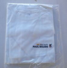 Tee shirt  PAUL RICARD CLUBS TAURINS  Objet Publicitaire Taille  L  NEUF