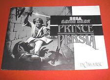Notice Prince of Persia [Game Gear] Sega NO Master System Megadrive *JRF