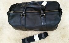 Polo Ralph Lauren Pony Leather Travel Carryall Carry on Duffle Luggage Bag 78d20e6f0a120