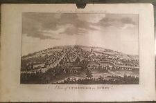 1779 Good size antique print of Guildford in Surrey