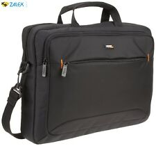 "15.6"" Laptop and Tablet Bag Black Accessory Storage Pockets For Portable Mo"