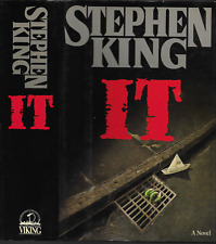 IT by Stephen King ~ 1986 ~ 1st Edition / 1st Printing Hardcover w/ Dust Jacket