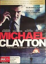 Michael Clayton (DVD, 2008)  George CLooney / Tom Wilkinson   BRAND NEW