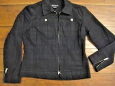 JNY Jones Of New York Signature Jacket/Blazer Black - Petite Medium