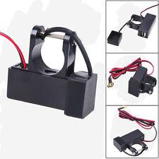 USB Charger Socket Adapter 12V to 5V 1A Car Motorcycle GPS Cell phone iPad iPod