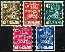 Nederland 556-560  Kerken in Oorlogstijd 1950 luxe gestempeld/USED