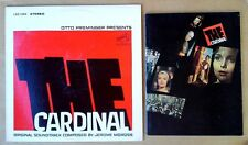 THE CARDINAL - JEROME MOROSS - LP SOUNDTRACK + PROMOTIONAL BOOKLET FOR FILM