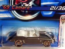 2006 Hot Wheels #21 First Edition '69 Camaro black FTE