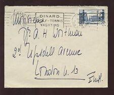 SPORT FRANCE 1949 HOTEL DINARD GOLF TENNIS YACHTING PMK