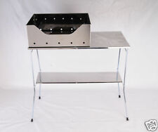 Barbecue in acciaio inox 430 a carbonella 30x40 cm