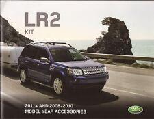 2011 2008 09 10 Land Rover LR2  Accessories original brochure