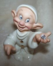 Lenox Disney Dopey's Delight Snow White Dwarf Figurine Disney Showcase