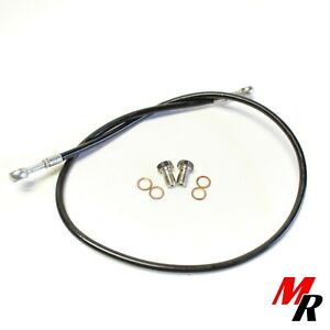 Venhill YAM-6014F Carbon w//Black Banjos and Bolts Yamaha R6 1999-2004 Front Braided Stainless Steel Brake Lines