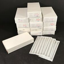 14 MIB BOXES OF TATTOO SHADING NEEDLES ALL OUTDATED CAN BE USED ON PRACTICE SKIN