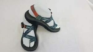 Chaco Women ZCloud X2 Rune Teal 6.0 J106056 Double-Strap blue and orange sandals