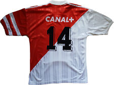 maillot as monaco Henry adidas 1994 1995 canal+ tamoil issue jersey L issue