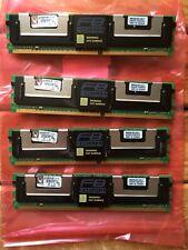 Kingston KVR 4GB (4x1GB) Server RAM | ECC FB-DIMM PC2-5300F 2RX8