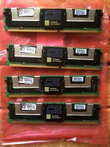 Kingston KVR 4GB (4x1GB) Server RAM   ECC FB-DIMM PC2-5300F 2RX8