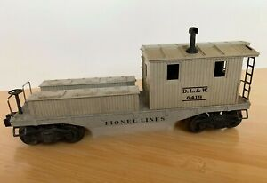 Lionel No. 6419 D.L.&W. Work Caboose Very Fine Used Condition