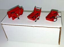 1/87th Trench Bedding & Yard Box (All Metal Set) Manitowoc Red. Made In The USA.