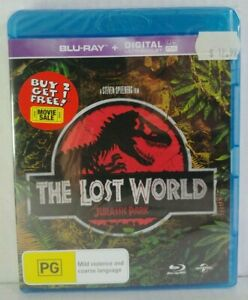 Factory-sealed The Lost World: Jurassic Park Blu-ray movie