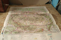 Topographic Map Czech Austria GDR 1989 Vintage Authentic Soviet Army Military