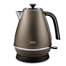 New Delonghi KBI3001.BZ Distinta 1.7 Litre 3000W Bronze Stylish Elegant Kettle