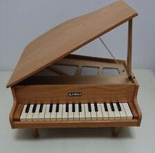 Kawai Mini grand piano 32 key natural musical instrument real toy wooden
