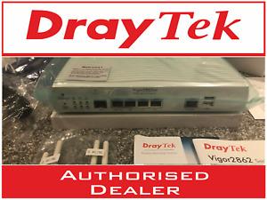 NEW DrayTek Vigor 2862AC VDSL/ADSL2+ 3/4G Dual Band Wireless VPN Router Firewall