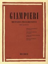 Ricordi metodo progressivo per sax Giampieri Alamiro