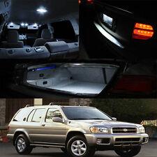 FOR 99-04 Nissan Pathfinder Interior LED HID Xenon Light Bulb Full Package White