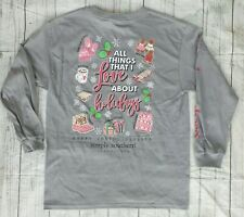 "NWT Simply Southern ""All Things That I Love About Holidays"" YOUTH Large- READ AD"