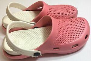 Women Men Rubber Slip on Nurse Clog Garden Water Sandal Shoes Mule Beach Nursing