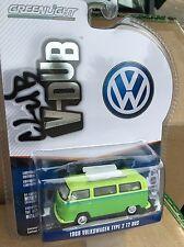 Greenlight  Club V - Dub 1969 Volkswagen Type 2 Bus w/ roof rack  green