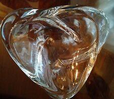 St Louis Crystal France Art Glass CARAVELLE Small Bowl Trinket Ashtray BIN
