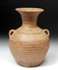Ancient Chinese Han Dynasty Ash Glazed Hu w/ TL Lot 70H