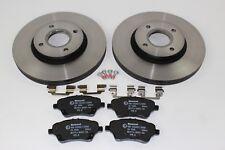 Original Brake Discs + Brake Pads Front FORD B-MAX - Fiesta 1751584 +1848532