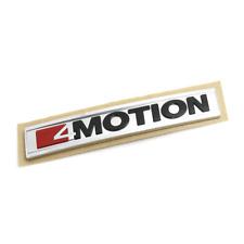 Original del VW Golf 7 T-Roc 4 Motion letras cheers atrás portón trasero emblema logotipo cromo