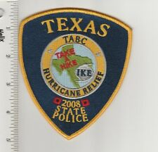 US Police Patch Texas State Alcoholic Beverage Commission Hurricane Relief 2008