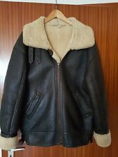Bomberjacke Type B 3 - Flight Jacket - echtes Lammfell  - Gr. 50