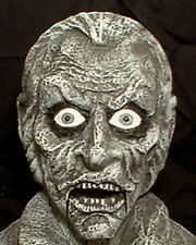 Mr. Grim Ventriloquist Bust   Halloween prop doll dummy Haunted Mansion House