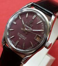 Vintage TITONI airmaster titoflex  date  winding  swiss working wrist watch N023