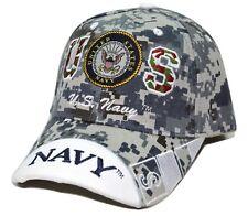 United States Navy Digital Camouflage US Navy Adjustable Military Cap Hat