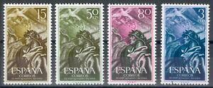 ESPAÑA - AÑO 1956 - EDIFIL 1187/90** - XX ANIV. ALZAMIENTO NACIONAL - MNH