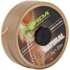 Korda SuperNatural Carp Braid Gravel Brown 25lb bs 20mt