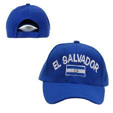 New El Salvador National Hat Cap World Cup Soccer Embroidered