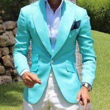 Slim Fit Groom Prom Men Suits Wide Peak Lapel Formal Wedding Groom Tuxedos