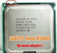 Intel Xeon X5460 Processor 3.16GHz 12MB 1333MHz CPU Works On LGA 775 Motherboard