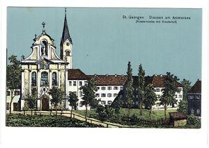 2799 - Diessen am Ammersee , Kirche St. Georgen , ähnlich Eugen Felle Karte