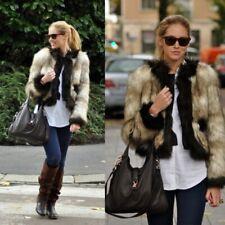 Lanvin X H&M Faux Fur Jacket Size 12 BNWT